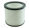 Universal washable cartridge filter, 15x16,5cm (o.a. Einhell, Metabo, Parkside, Fam Aquavac)