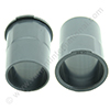 Adapter PVC outside diameter 35mm / inside diameter 31.75mm with lip