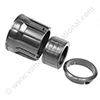 NUMATIC tank fitting 38mm click system + screw cuff and click ring