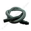 BOSCH Optima + SIEMENS VS5/VS9 vacuum cleaner hose silver 1.8m