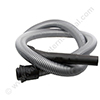 ELECTROLUX UZ930 + NILFISK GD930/VP930 vacuum cleaner hose silver 1.8m with bent end plastic short