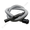 NILFISK GS80/90 vacuum cleaner hose silver 1.8m with plastic bent end