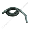 Stretch hose 32 black 1,05 x 6m + bent end plastic 32mm + cv cuff PLASTIFLEX