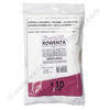 ROWENTA Silence Force / MOULINEX Manea microfiber dustbags