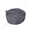 Hose protection cover nylon grey with zipper 9.6m