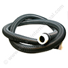 REFLEX 32mm anthracene grey (CLEANFIX) vacuum cleaner hose 2.2m + 2 click sets