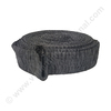 Hose protection cover polyester charcoal grey 9.6m