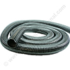 Reinforced PVC hose 44mm black 15m (temp. - 5°C upto + 80°C)