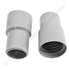 Screw cuff 32mm PVC grey for hose 32mm