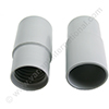 Screw cuff 51mm PVC grey for hose 38mm